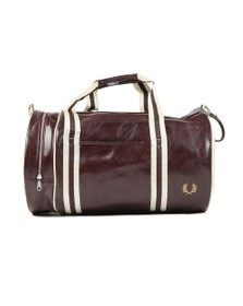 Fred Perry Sportswear Mens Red Classic Barrel Bag