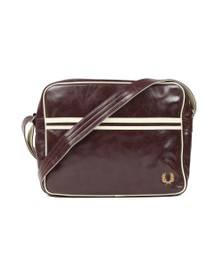 Fred Perry Mens Red Classic Shoulder Bag