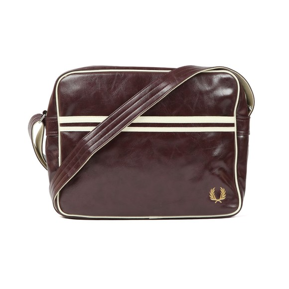 Fred Perry Mens Red Classic Shoulder Bag main image