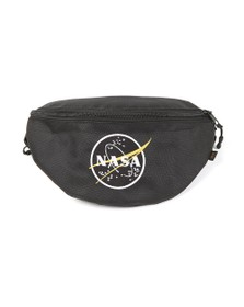 Alpha Industries Mens Black NASA Waist Bag