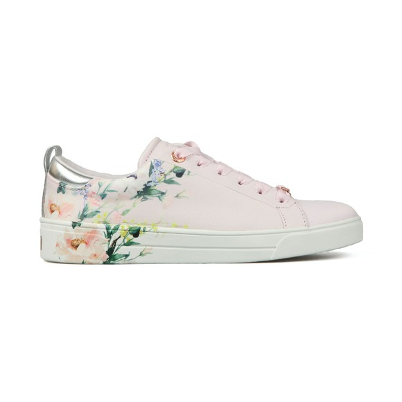 Ted Baker Womens Pink Rialy Printed Tennis Trainer main image