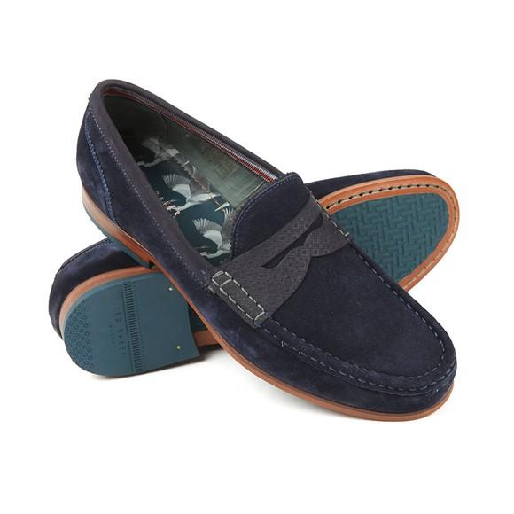 Ted Baker Mens Blue Saddle Loafer main image