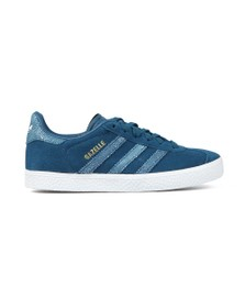 adidas Originals Girls Blue Gazelle Trainer