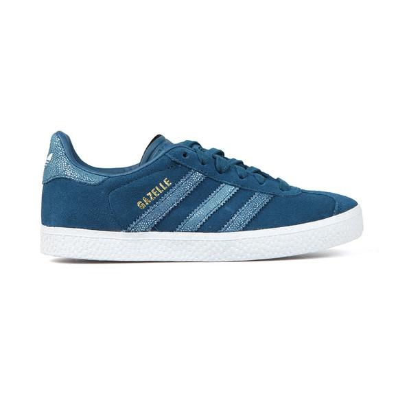 adidas Originals Girls Blue Gazelle Trainer