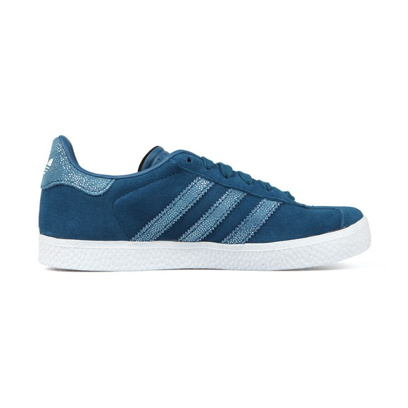 adidas Originals Girls Blue Gazelle Trainer main image