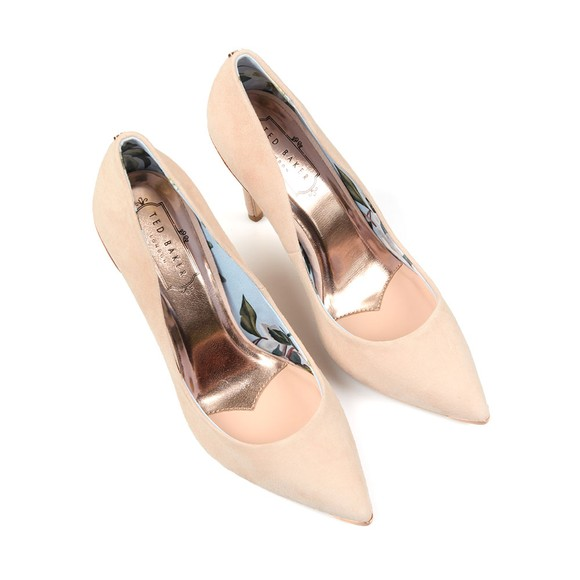 Ted Baker Womens Pink Kawaa Pointed Court Shoes main image