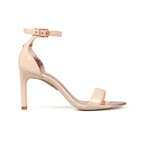 Ted Baker Womens Pink Ulaniil Mid Heel Ankle Strap Sandal main image