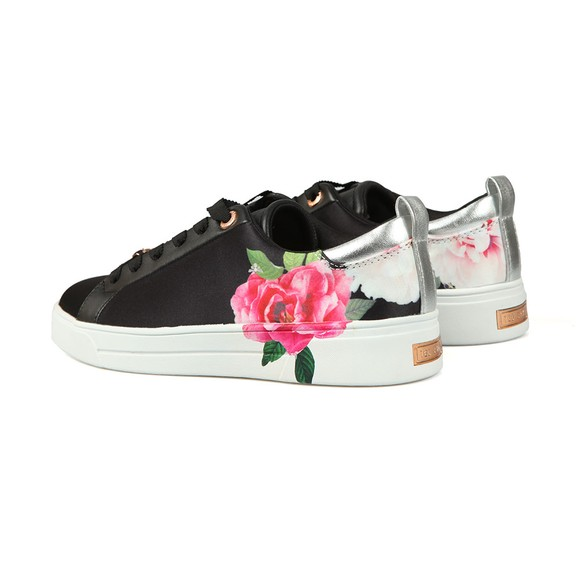 Ted Baker Womens Black Rialy Printed Tennis Trainer main image