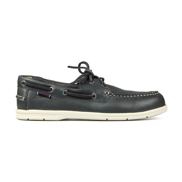 Sebago Mens Blue Naples Leather Boat Shoe main image