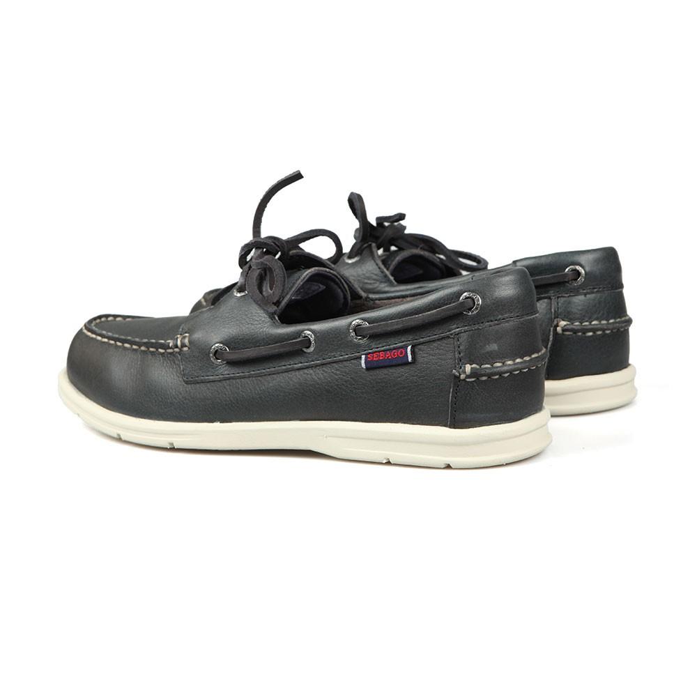 Naples Leather Boat Shoe main image