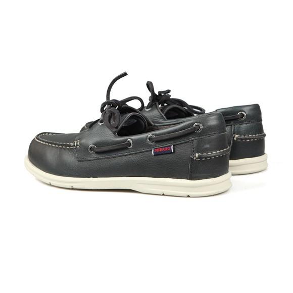 Sebago Mens Blue Naples Leather Boat Shoe main image