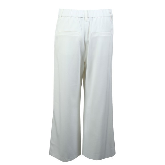 French Connection Womens White Angeline Drape Wide Leg Trouser main image