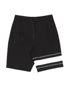 HUGO Mens Black Dorts Jersey Short