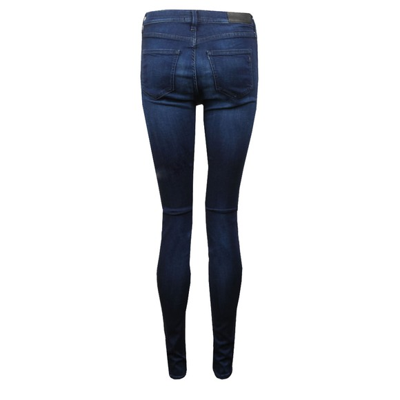 Replay Womens Blue Touch High Waist Skinny Jean main image