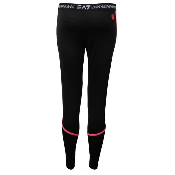 EA7 Emporio Armani Womens Black Pantaloni Leggings main image