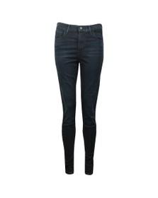 Levi's Womens Midnight Mayhem 720 High Rise Super Skinny Jean