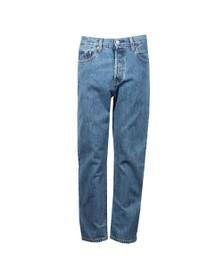 Levi's Womens Blue 501 Crop Jean