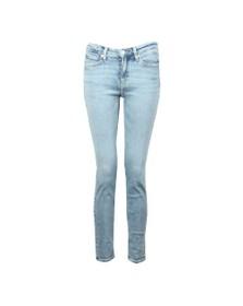 Calvin Klein Jeans Womens Blue CKJ 011 Mid Rise Skinny Jean
