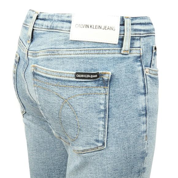 Calvin Klein Jeans Womens Blue CKJ 011 Mid Rise Skinny Jean main image