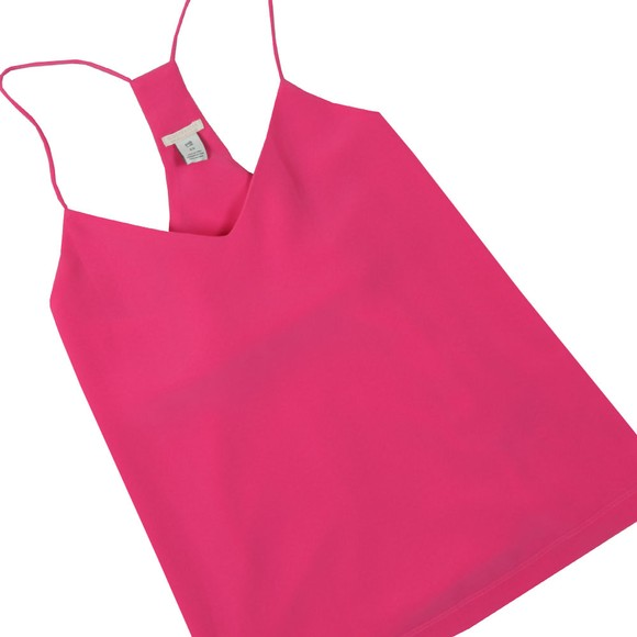 Maison Scotch Womens Pink Top With Spaghetti Straps main image
