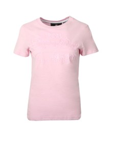 Superdry Womens Pink Vintage Logo Tonal Entry Tee