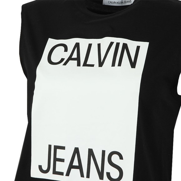 Calvin Klein Jeans Womens Black Muscle Top main image