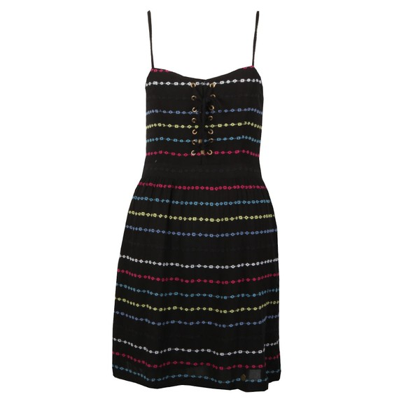 Superdry Womens Black Tamara Carnival Dress main image