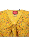 Superdry Womens Yellow Allegra Playsuit