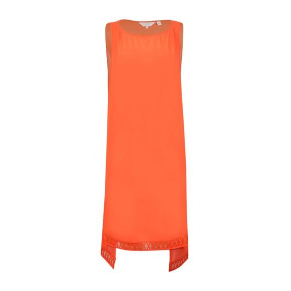 Ted Baker Womens Orange Eltree Lattice Step Hem Cover Up main image