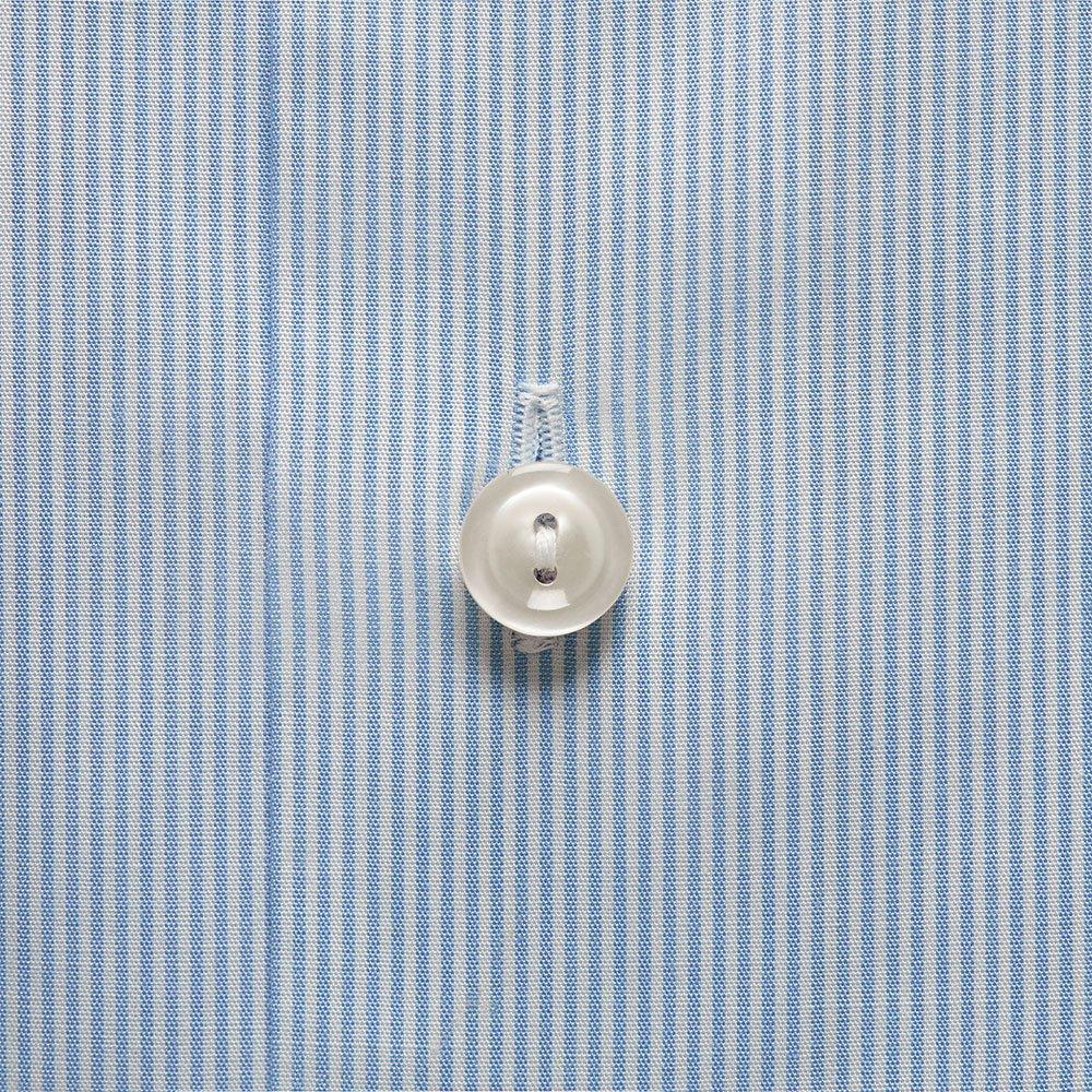 Poplin Stripe Flower Detail Shirt main image