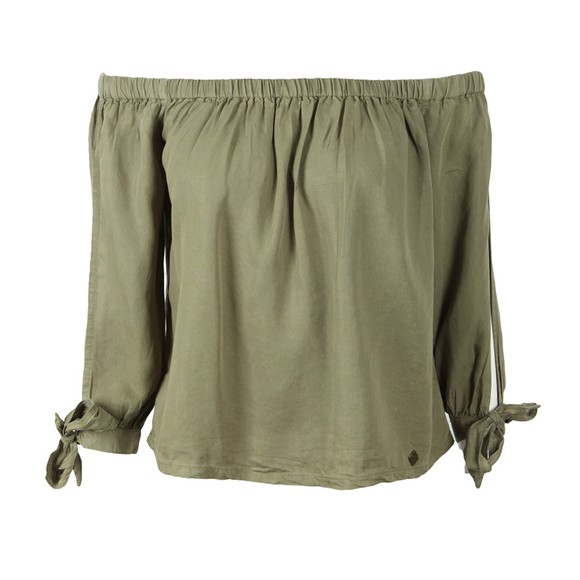 Superdry Womens Green Helena Top main image