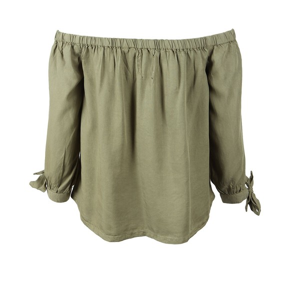 Superdry Womens Green Helena Top