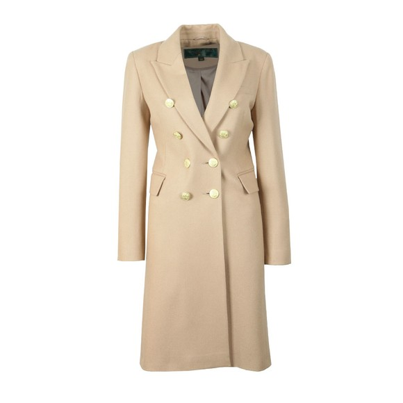 Holland Cooper Womens Brown Knightsbridge Coat