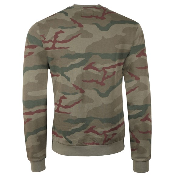 Fred Perry X Arktis Mens Green Camo Sweat main image