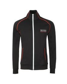 BOSS Bodywear Mens Black Piping Detail Tracksuit Jacket