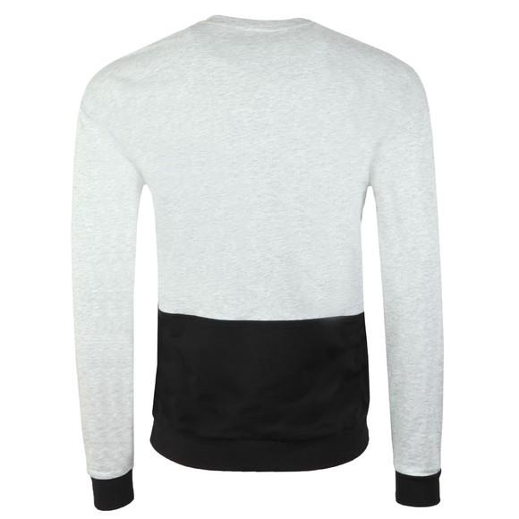 BOSS Bodywear Mens Grey Black Logo Authentic Sweatshirt main image