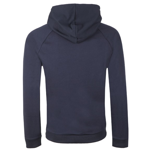 BOSS Bodywear Mens Blue Heritage Sweatshirt Hoody main image