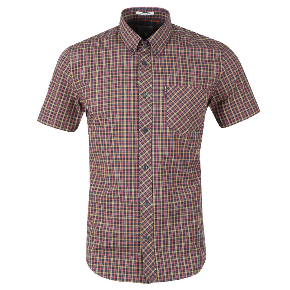 S/S Gingham Check Shirt main image