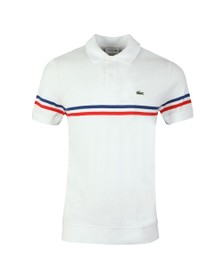 Lacoste Mens White PH4246 Polo