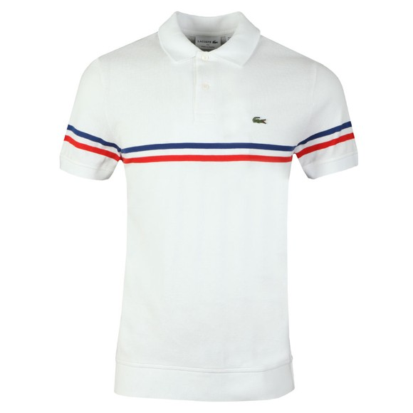 Lacoste Mens White PH4246 Polo main image