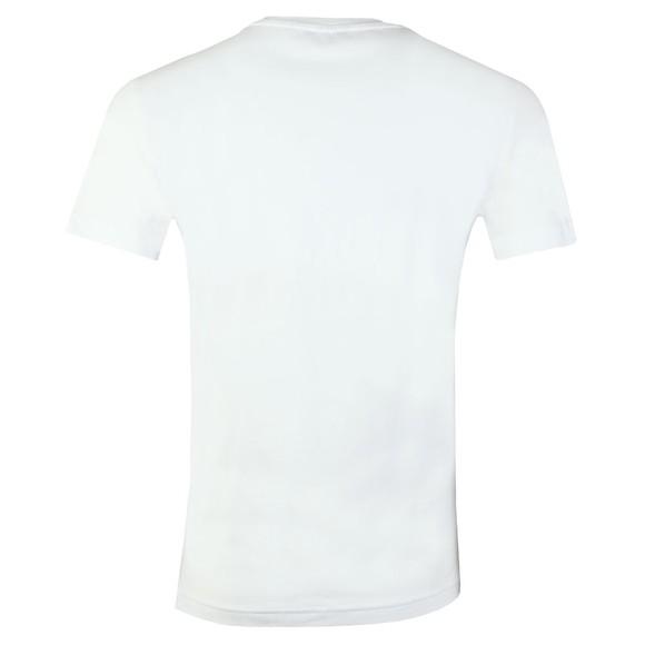 Emporio Armani Mens White Small Logo Swim T Shirt main image