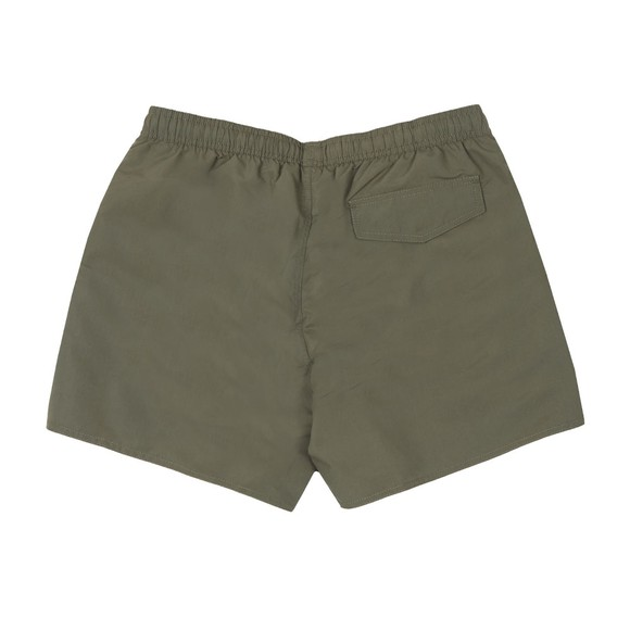 Emporio Armani Mens Green Large Logo Swim Shorts