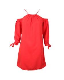 Superdry Womens Pink Eden Cold Shoulder Dress