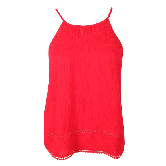 Superdry Womens Red Ricky Cami Top  main image