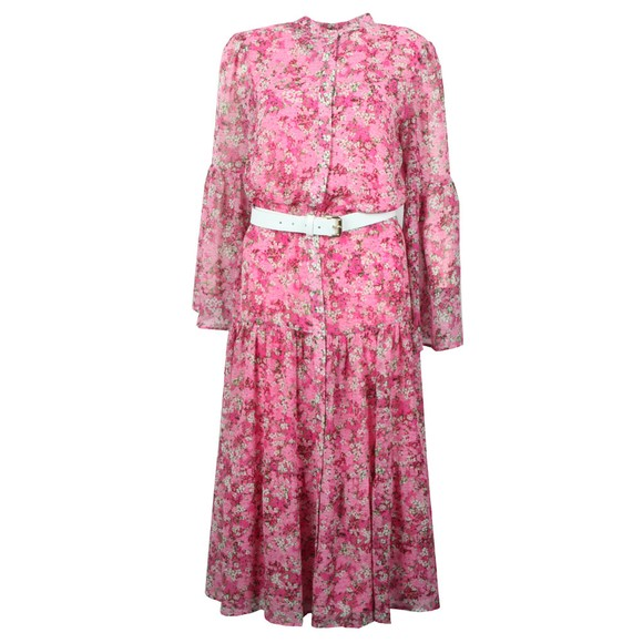 Michael Kors Womens Pink Enchanted Bloom Dress main image