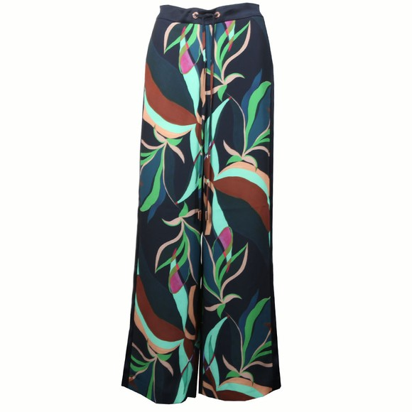 Ted Baker Womens Blue Glooria Supernatural Wide Leg Trouser main image