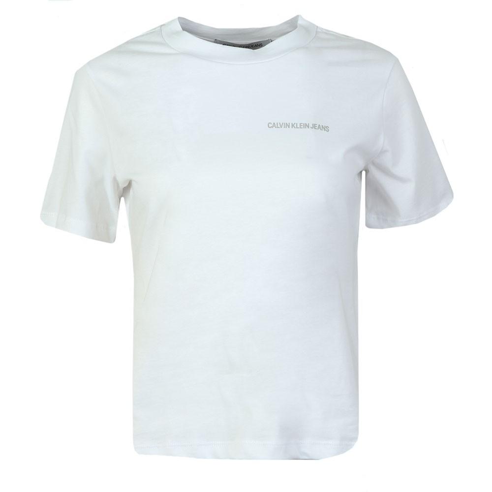Metallic Cut Off Calvin T Shirt main image