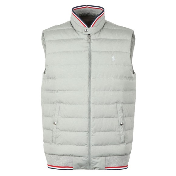 Polo Ralph Lauren Mens Grey Hybrid  Gilet main image
