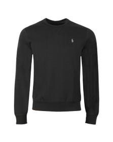 Polo Ralph Lauren Mens Black Tech Crew Sweatshirt