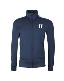 Eleven Degrees Mens Blue Poly Panel Track Top